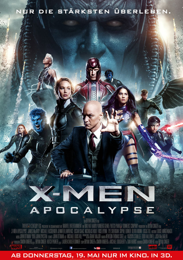 X-Men-Apocalypse-Plakat