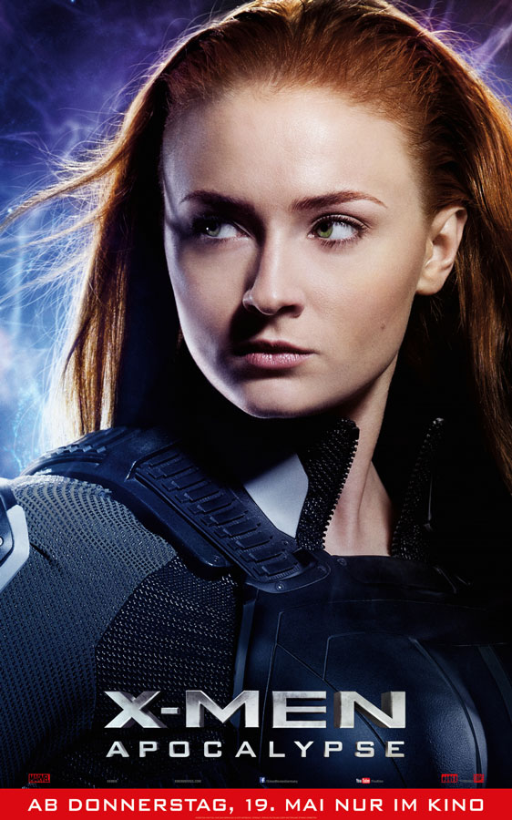x-men-sophie-turner-plakat