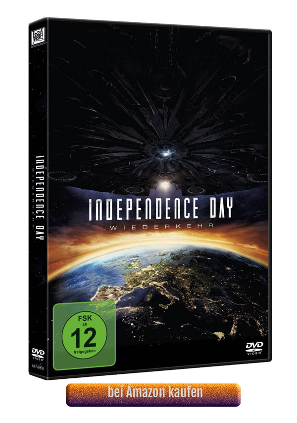 Independence Day 2 Bluray DVD