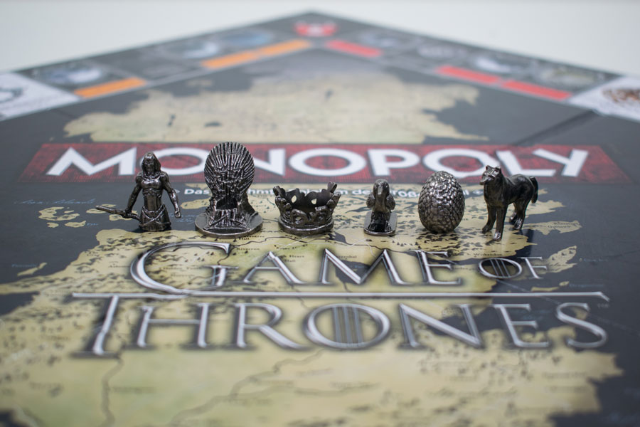 Game of Thrones Monopoly Figuren