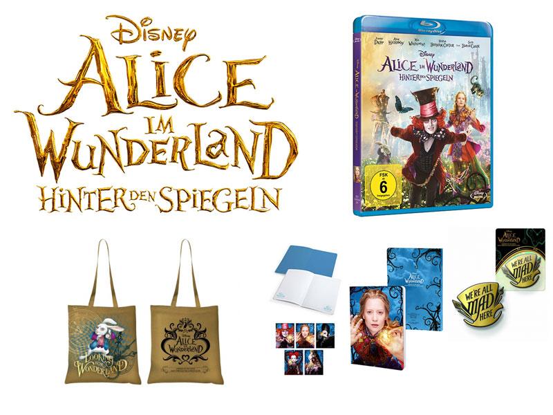 Alice im Wunderland Verlosung Bluray