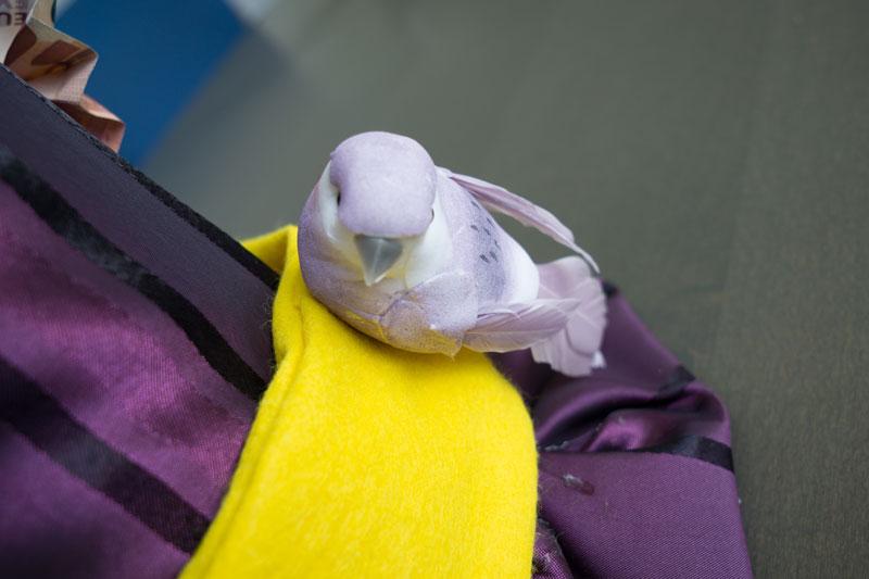 Vogel Hut selber machen