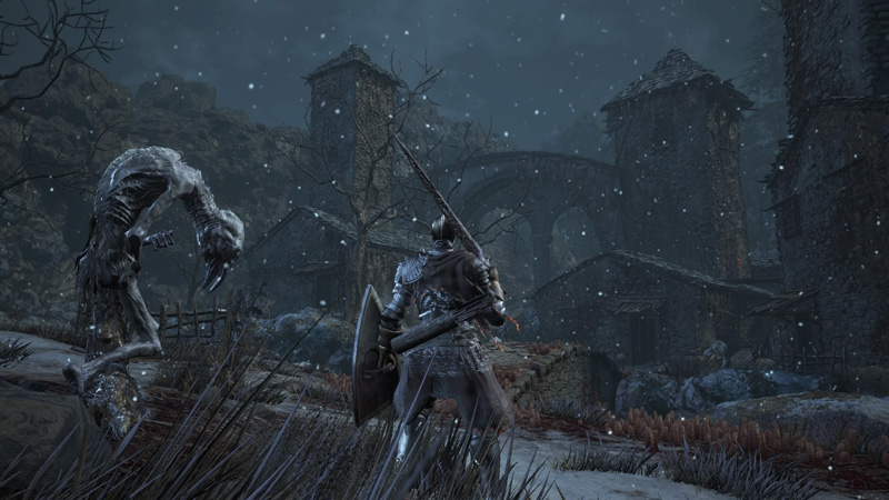 Dark Souls 3 Ashed of Ariandel