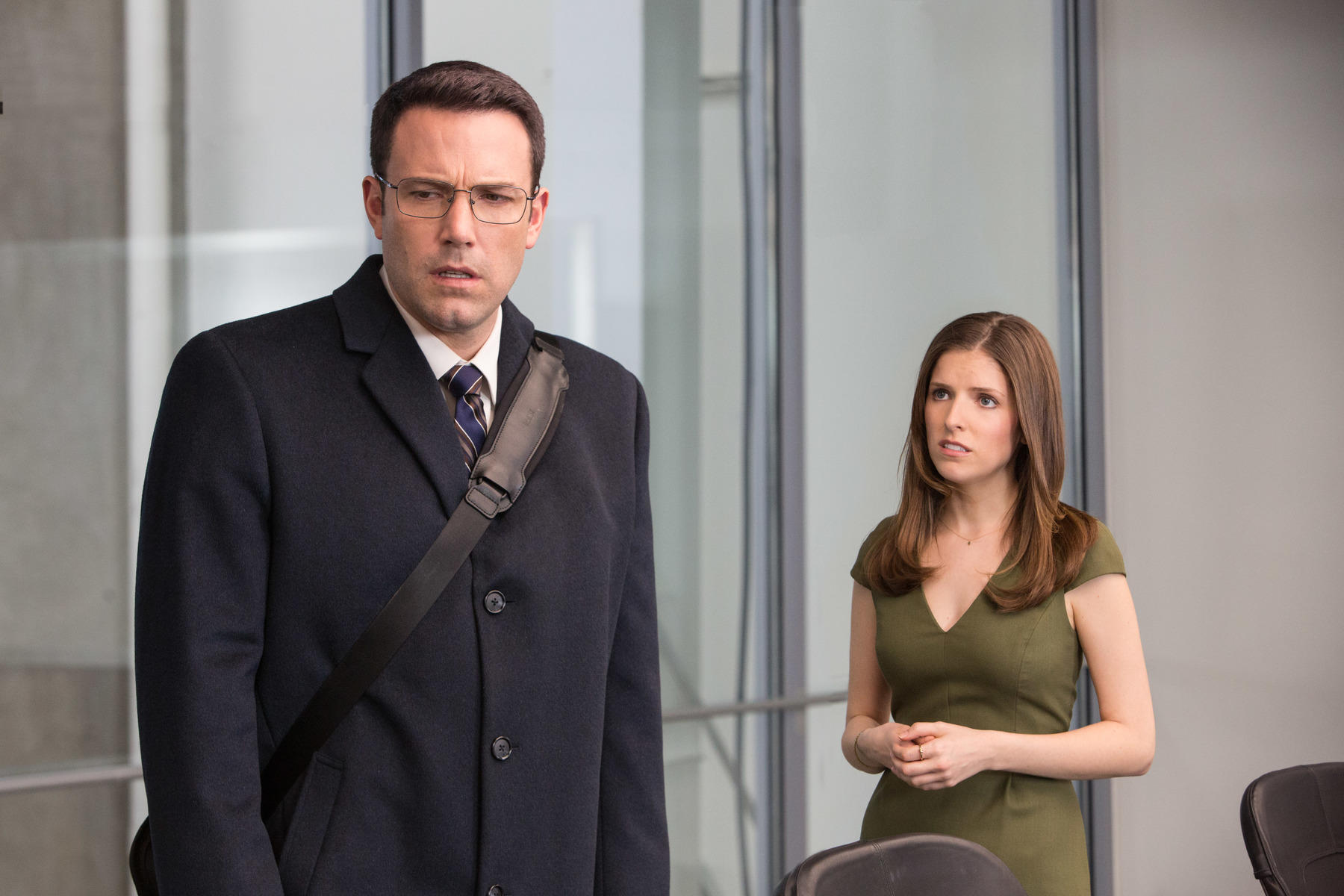 The Accountant Ben Affleck und Anna Kendrick