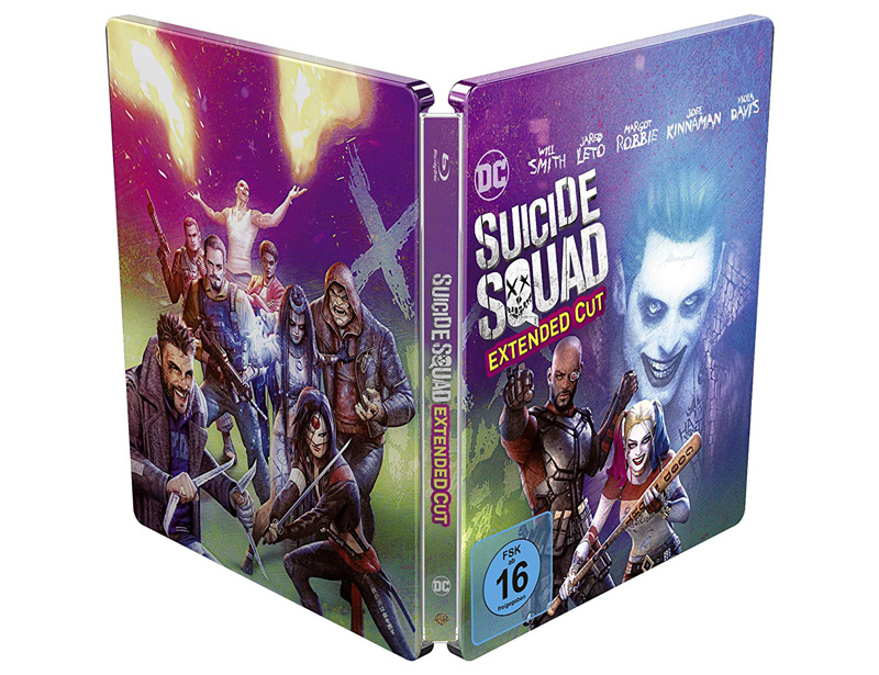 Suicide Squad Steelbook Bluray Limited Edition