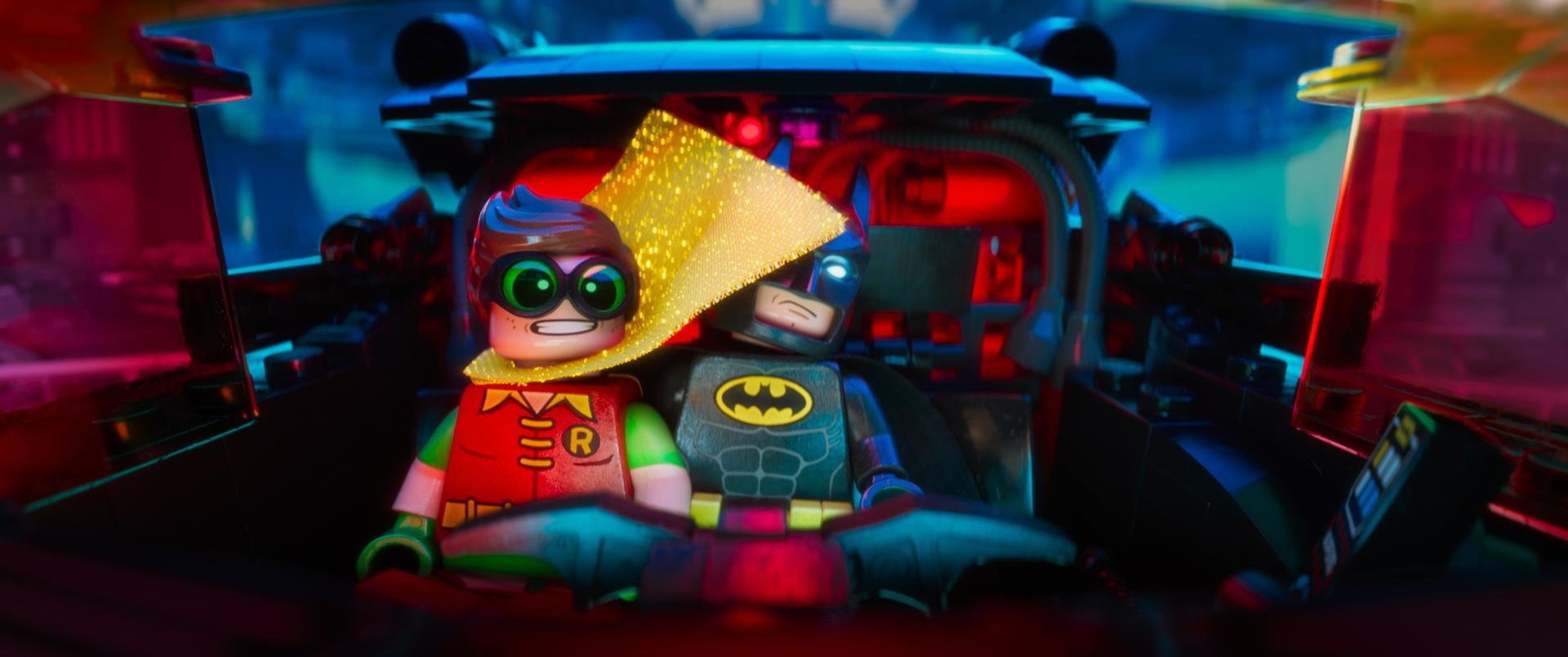 The Lego Batman Movie Robin und Batman