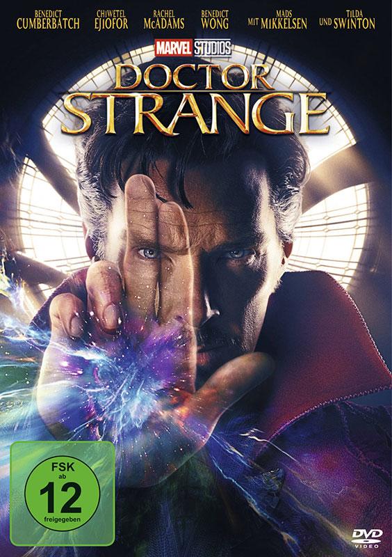 Doctor Strange DVD mit Benedict Cumberbatch