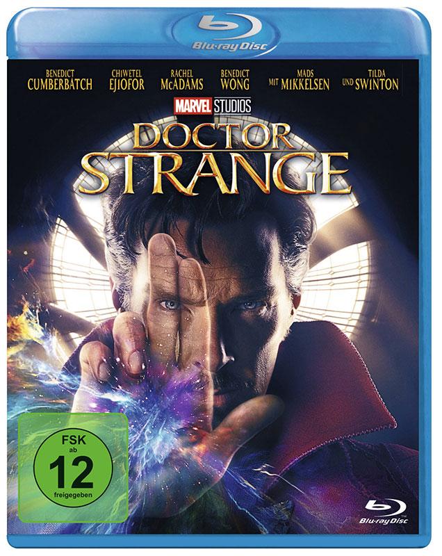 Doctor Strange Bluray mit Benedict Cumberbatch