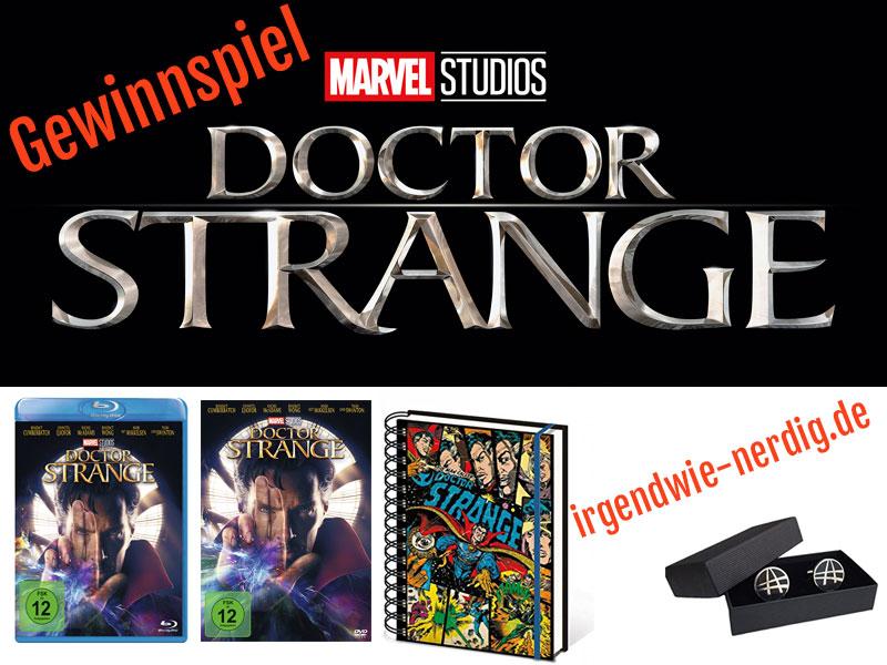 Gewinnspiel Doctor Strange Bluray DVD