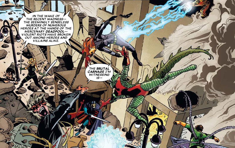 Deadpool killt das Marvel Universum Comic