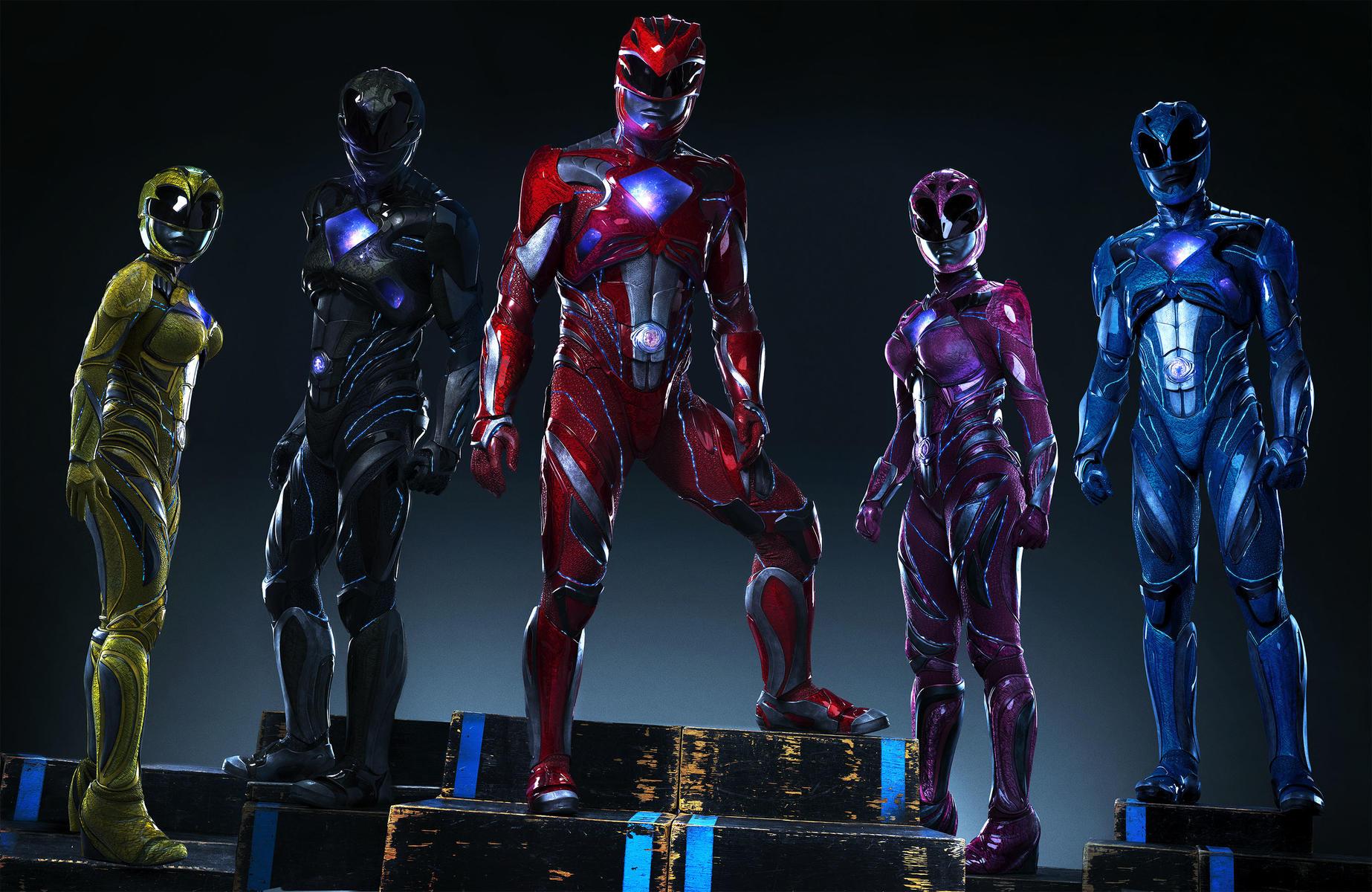 Power Rangers Kritik zum Film Superhelden
