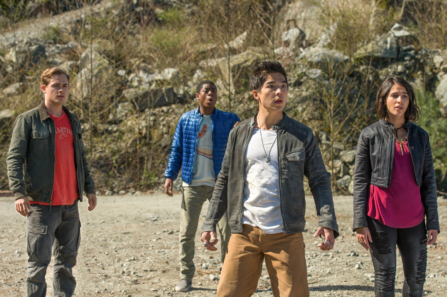 Power Rangers Kritik mit Naomi Scott RJ Cyler Dacre Montgomery