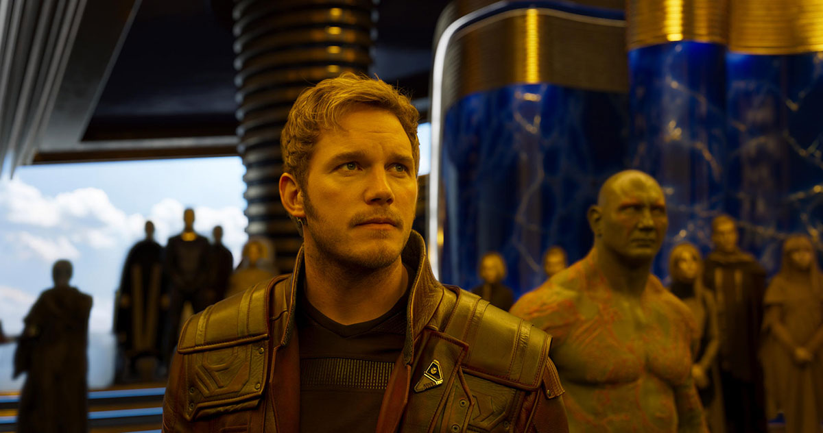 Guardians of the Galaxy Vol 2 Kritik - Drax und Starlord