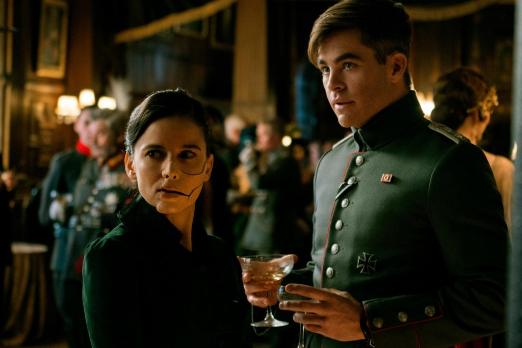 Wonder Woman Chris Pine und Elena Anaya