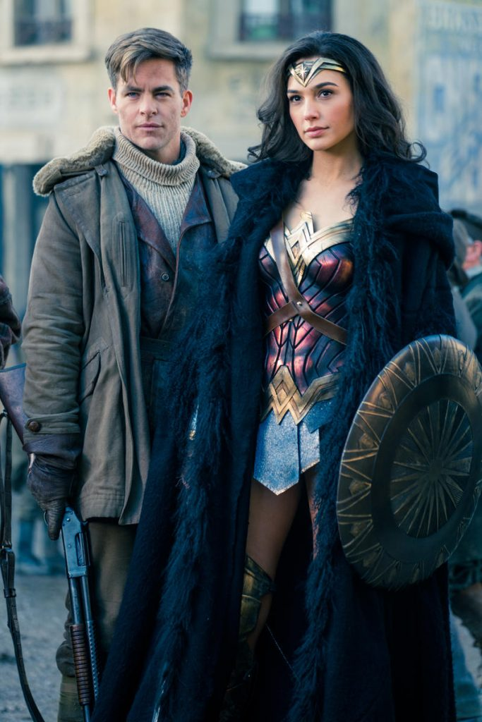 Wonder Woman Kritik Chris Pine Gal Gadot