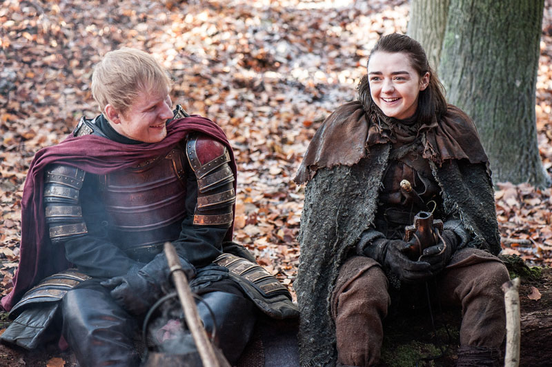 Game of Thrones Ary Stark Ed Sheeran