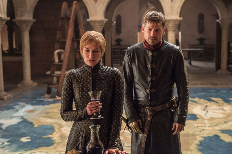 Game of Thrones Jamie Lannister und Cersei Lannister