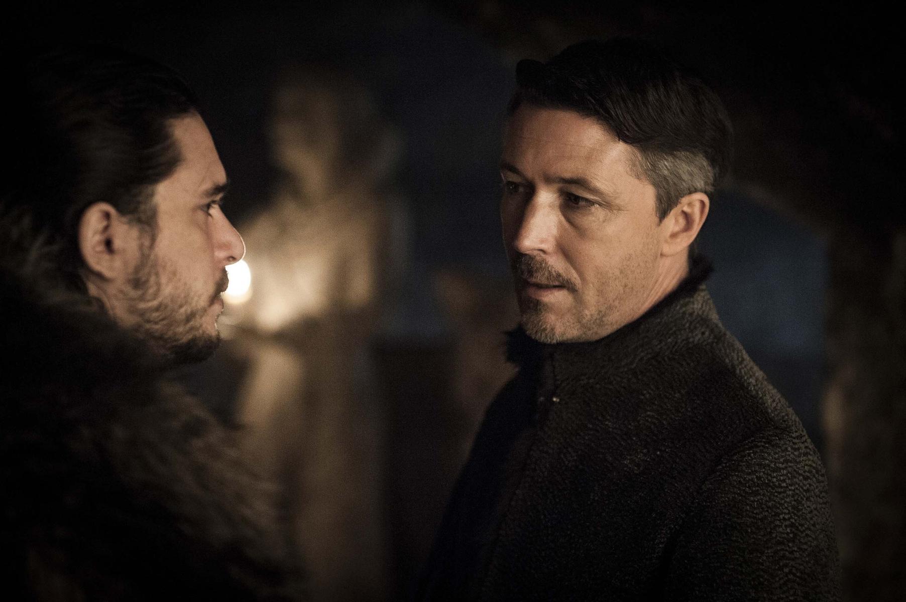 Game of Thrones Kit Harington und Aidan Gillen