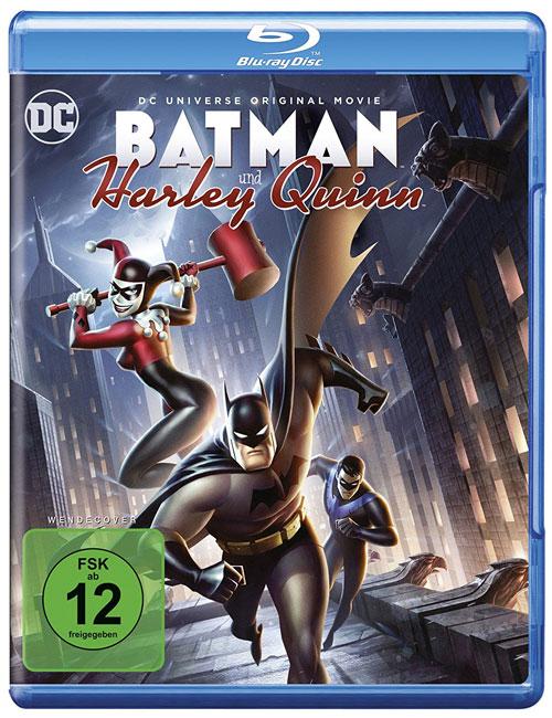 Batman und Harley Quinn Blu-ray