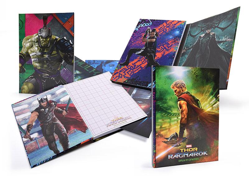 Thor: Ragnarok Merchandise Notizbuch