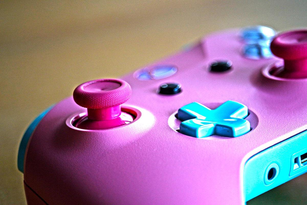 Gesundheit und Gaming Controller