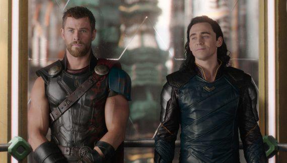 Thor 3 Tag der Entscheidung Chris Hemsworth und Tom Hiddleston