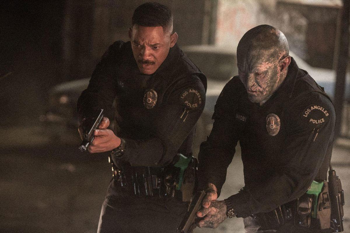 Bright Netflix Film mit Will Smith und Joel Edgerton