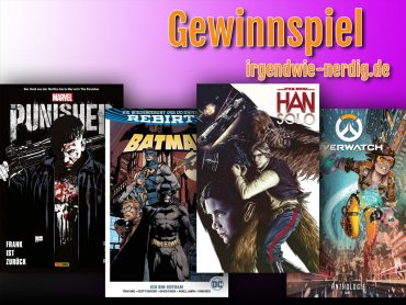 Comic Gewinnspiel Panini