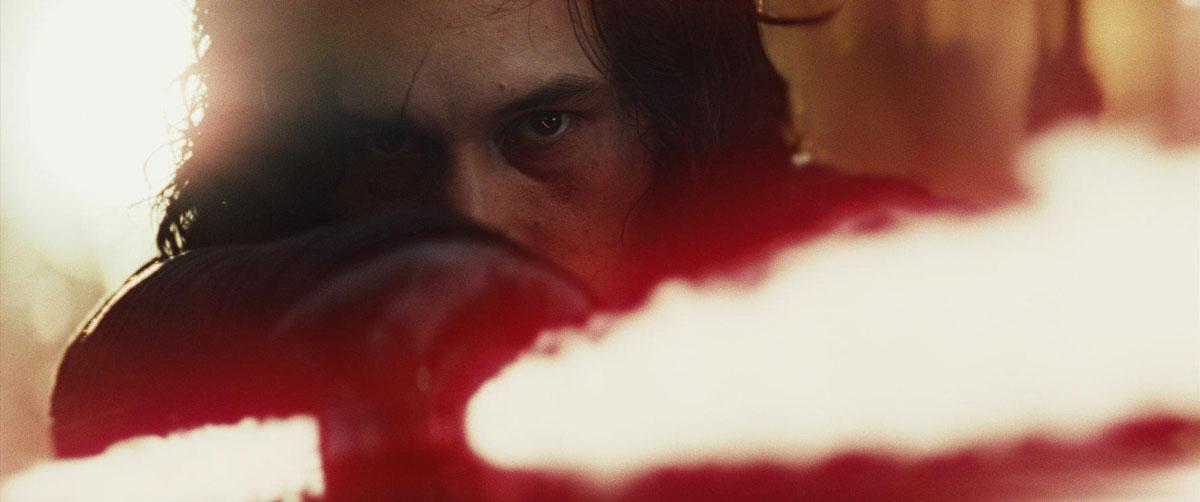 Star Wars 8 The Last Jedi Adam Driver Kylo Ren