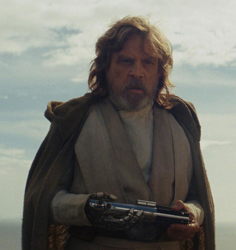 Star Wars 8 The Last Jedi Luke Skywalker Mark Hamill