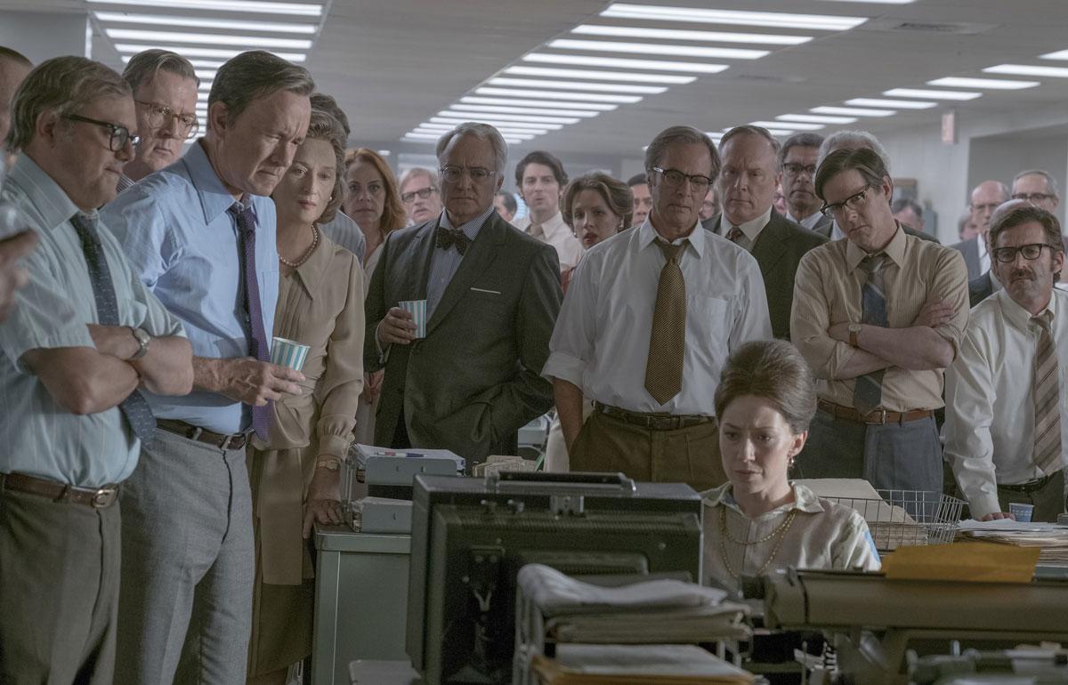 Die Verlegerin mit Tom Hanks