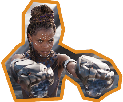 Letitia Wright als Shuri in Black Panther - T'Challas Schwester