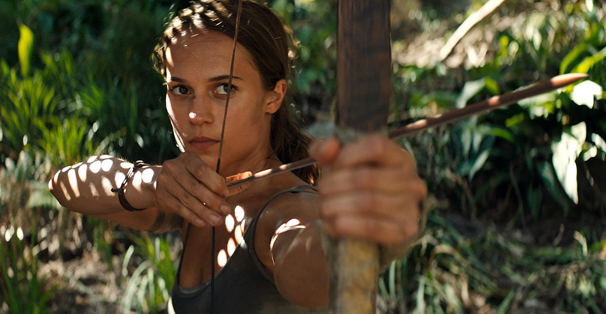 Alicia Vikander Tomb Raider Kritik 2018 Lara Croft
