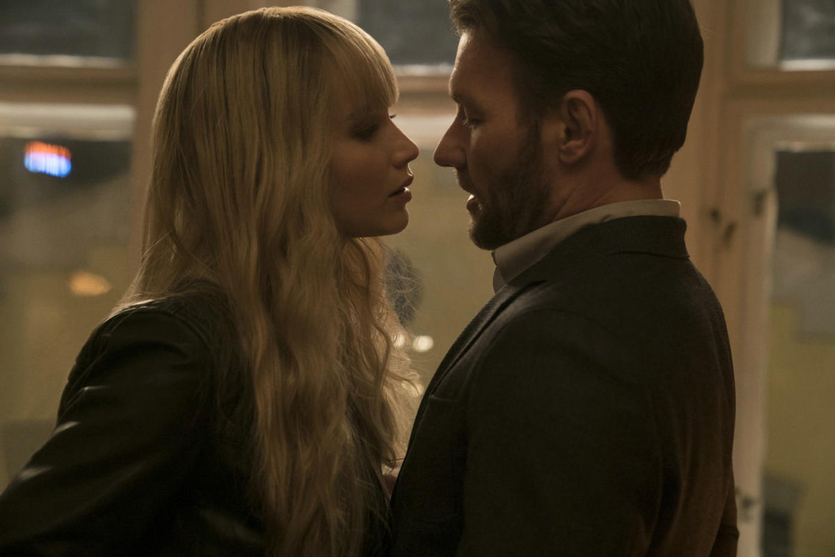 Red Sparrow mit Joel Edgerton und Jennifer Lawrence