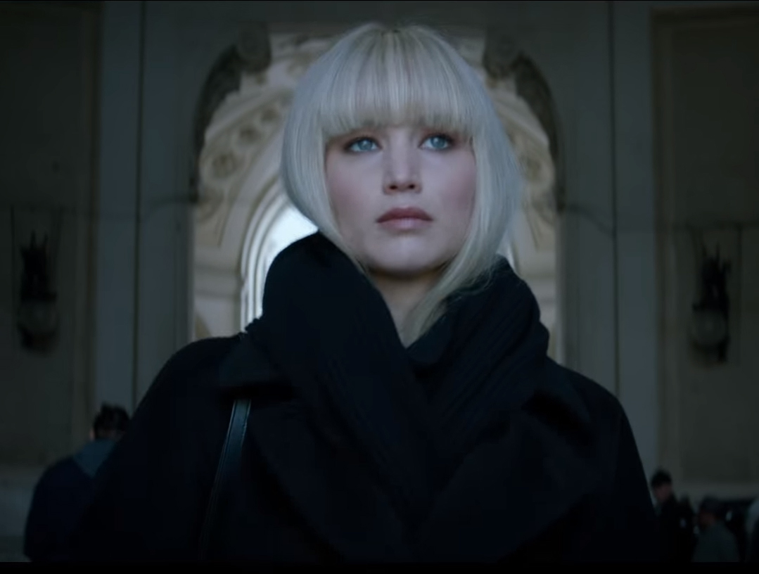 Red Sparrow Kritik - Jennifer Lawrence
