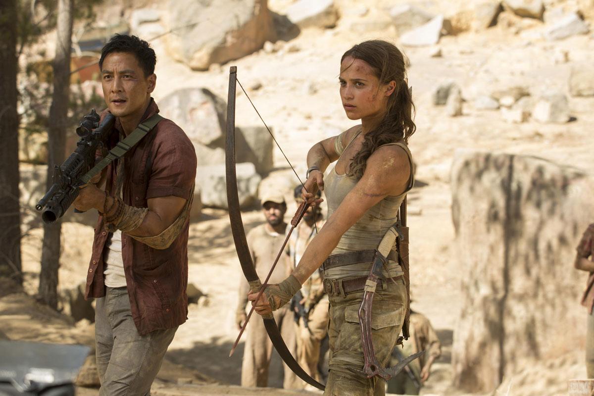 Tomb Raider Kritik 2018 - Alicia Vikander als Lara Croft und Daniel Wu