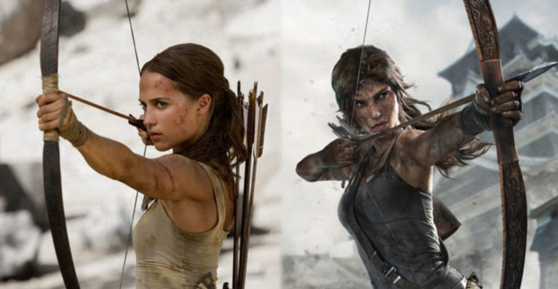 Tomb Raider Lara Croft Movie vs Game Kritik 2018
