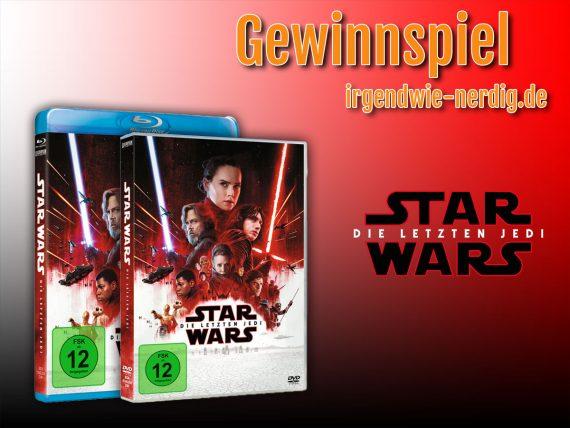 Star Wars - Die Letzten Jedi - Blu-Ray oder DVD zu gewinnen