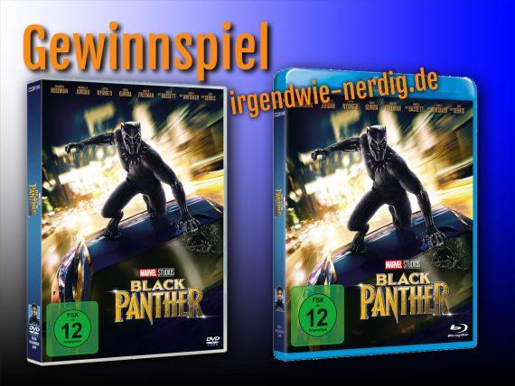 Black Panther Gewinnspiel Blu-Ray, DVD