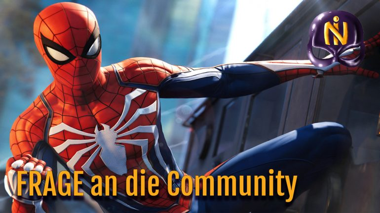 Spider-Man PS4 Unboxing Frage an die Community