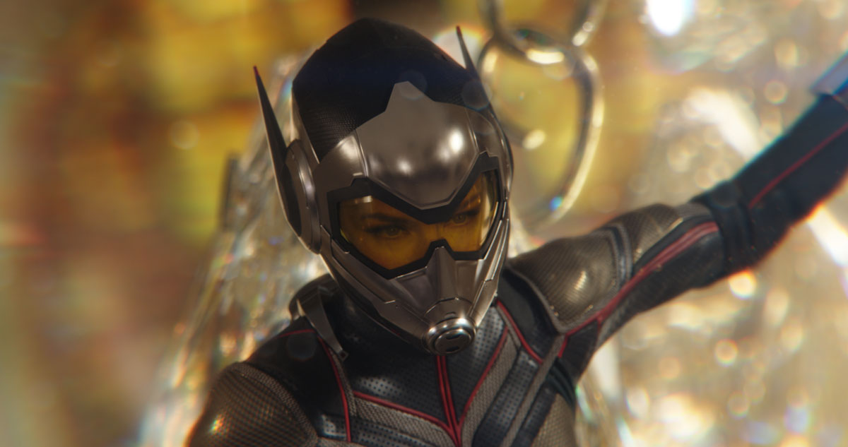Evangline Lilly in Ant-Man and the Wasp
