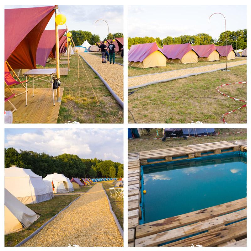 Elbenwald Festival 2018 Camping