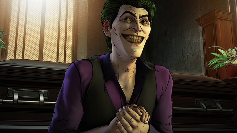 Joker in Batman Telltale Series