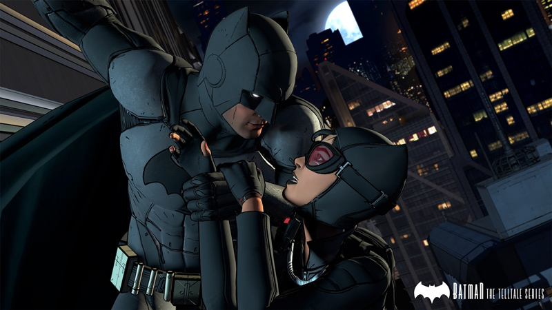 Batman und Catwoman in Telltale Series