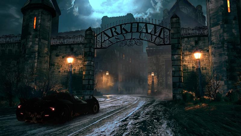 Batman Telltale Series Arkham Asylum Batmobil