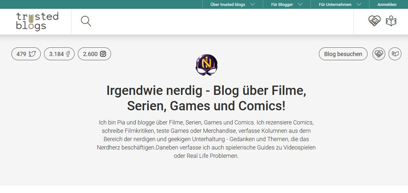 Irgendwie nerdig trusted blogs