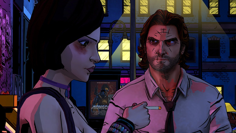 The Wolf Among Us Telltale Series