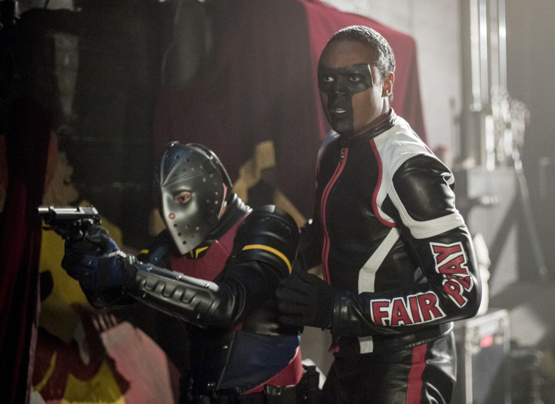 Arrow mit Wild Dog und Mr. Terrific