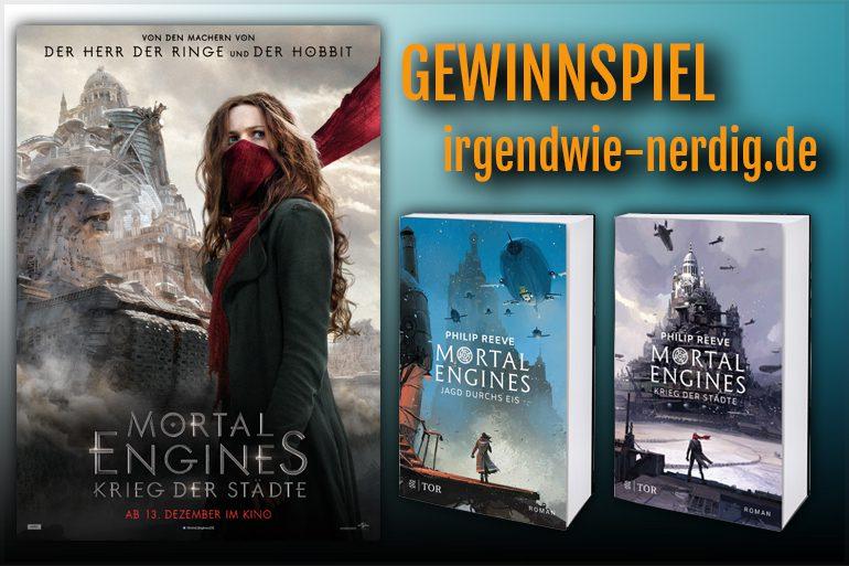 Mortal Engines: Krieg der Städte, Gewinnspiel, Kinofilm