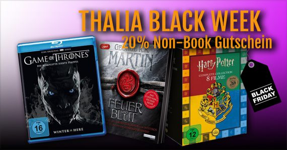 Thalia Black Week am Black Friday 20% Rabatt